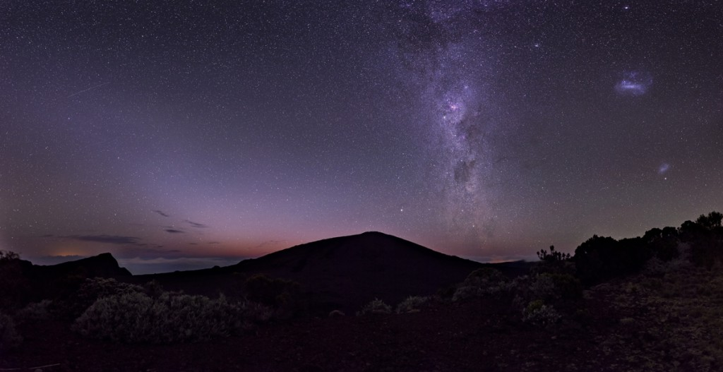 Magellanic Clouds, Milky Way and Zodiacal Light