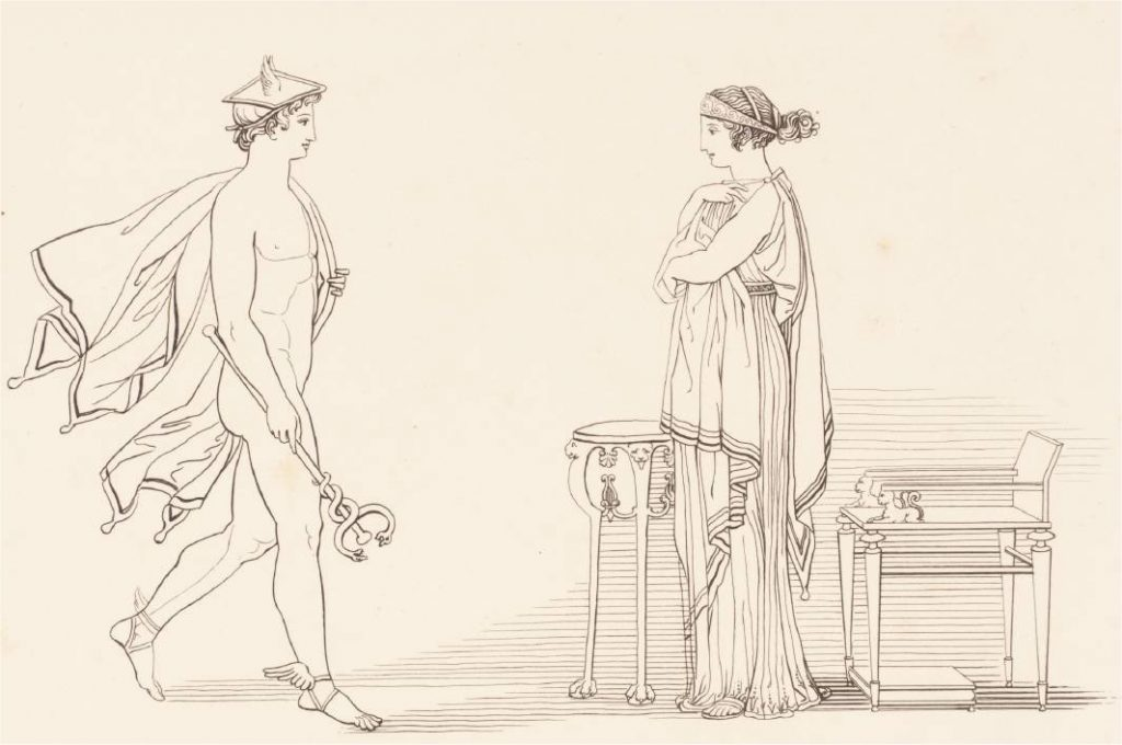 Hermes and Kalypso